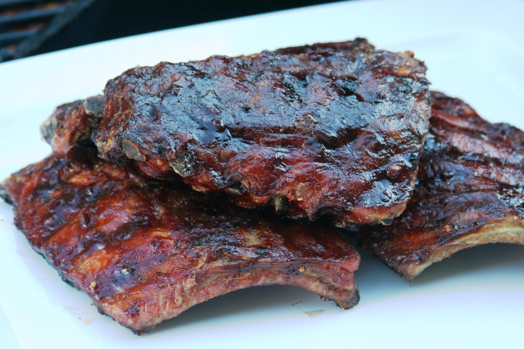 BBQ Baby Pork Back Ribs | eddy's kitchen